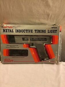 Vtg Sun Inductive Timing Light Cp7515 In Original Package Used Once Nice