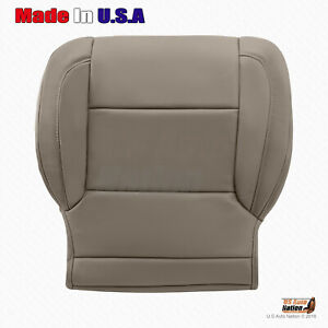 2015 2016 2017 2018 Chevy Silverado Driver Bottom Leather Seat Cover Dune tan