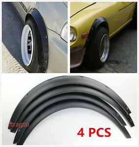 Universal Car Truck Wheel Fender Flares Cover Wide Body Kit Wheel Arches 4 5
