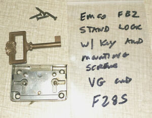 Emco Fb 2 Mill green Stand Parts Lock Key Mounting Screws F28s