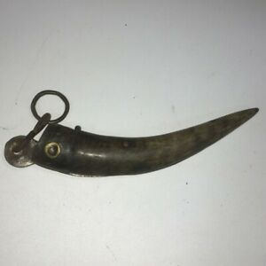 Antique Chinese Horn Handle Knife