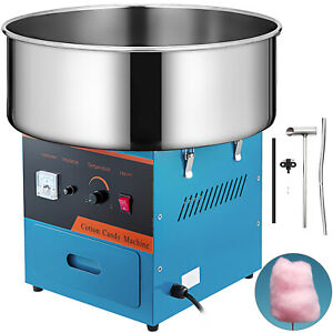 21 commercial Cotton Candy Machine Sugar Floss Maker Party Electric blue