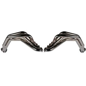 Big Block Chevy Fenderwell Headers For 1955 57 Chevy Chrome