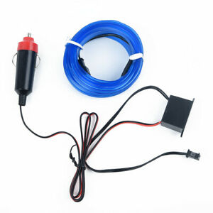 12v Cars Interior Blue Decoration Lights Universal Led Blue Accessories Parts