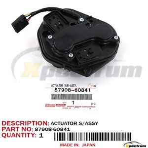 Lexus Factory Oem 87908 60841 Right Outside Mirror Actuator Rx330 Rx350 Rx400h