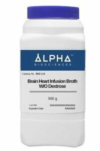 Brain Heart Infusion Broth Without Dextrose b02 114