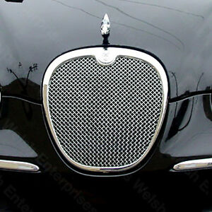 Jaguar S Type 05 Up Chrome Mesh Grille Xr8 40243 S Badge Not Included