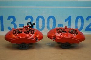 2014 W218 Mercedes Cls550 Front Left And Right Brake Calipers Caliper Pair Oem