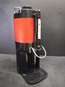 Used Bunn O Matic 44050 0007 Tf Server 1 5 Gal Red Wrapped Dispenser M11