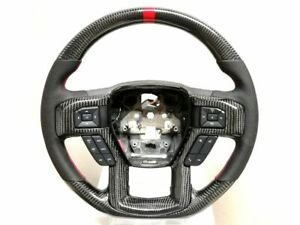 2014 2019 Raptor Ferrari Racing Design Real Carbon Fiber Steering Wheels