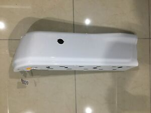 Rear Bumper End Rh Ford F150 Styleside W Sensor Hole Oxford White 2009 2014 Oem