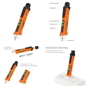 Limited Time Sale Voltage Tester Pen Non contact With Led Flashlight 12v To 10