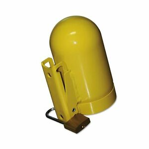 Saf t cart Sc2fnnp 12 Cylinder Cap Low Pressure 3 1 2 Steel Yellow