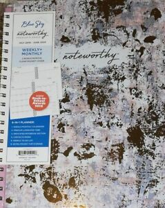 Blue Sky Noteworthy 2019 2020 Academic Year Weekly Monthly Planner loc Cre 6