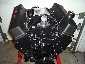 Chevy 350 385hp Chevy Crate Engine 4 Bolt Main Chevrolet Sbc Hi Perf Lopey Idle