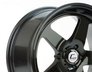 Cosmis Racing Xt005r 18x9 25 5x100 Black Set Of 4