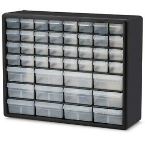 Storage Organizer Cabinet Plastic Parts Hardware Container Toy Bin 32 drawers