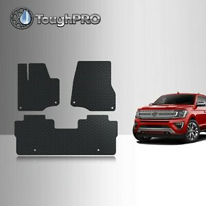 Toughpro Floor Mats Black For Ford Expedition All Weather Custom Fit 2018 2021