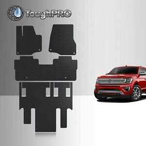 Toughpro Floor Mats 3rd Row Black For Ford Expedition All Weather 2018 2021