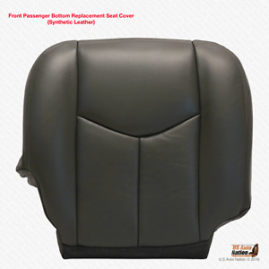 2003 2004 2005 2006 2007 Chevy Silverado Passenger Bottom Vinyl Cover Dark Gray