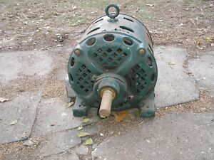 Large Antique Century Electric Motor