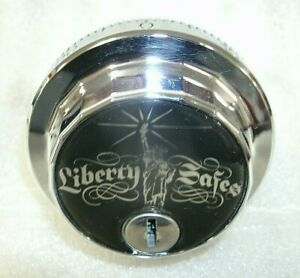 S g 6730 Combo Safe Lock From Liberty Safe chrome Finish locksmith