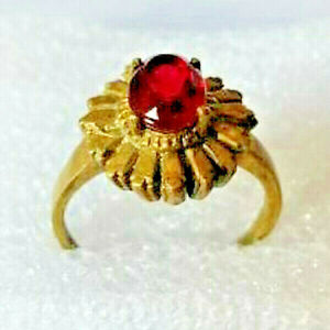 Ancient Medieval Bronze Ring Artifact Museum Quality Beautiful