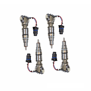 2003 5 2007 Ford 6 0l Powerstroke Set Of Four Injector Rebuild Service
