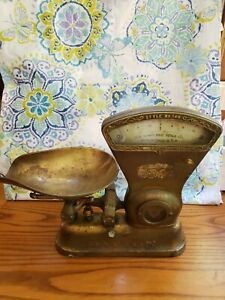 Antique 1906 166 2lb Dayton Computing General Store Candy Scale