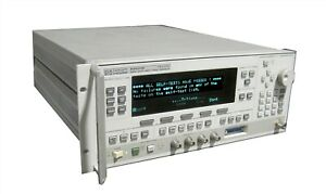 Hp 83620b Swept Signal Generator System 8360b Series 10mhz 20ghz option 001 008