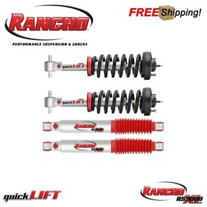 Rancho Quicklift Leveling Kit With Rear Rs9000xl Shocks For 05 12 Toyota Tacoma