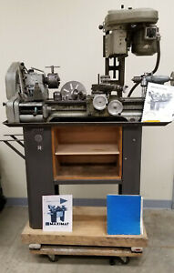 Maximat Standard Lathe And Milling Machine Circa Atomic Energy Commission Nm