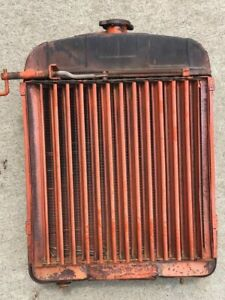 Allis Chalmers B C Tractor Radiator With Shutters