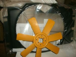 7 Blade Replacement Fan Blade And Shroud Mga Mgb 56 71 greater Cooling