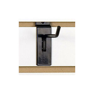 Slatwall Hook In Black 4 Inches Case Of 100