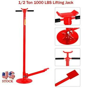Car Auto 1 2 Ton 1000 Lbs Under Hoist Support Stand 80 Lifting Safety Jack Us