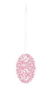 Pink Damask Large Oval Price Tags 3 h X 2 w Inches Box Of 500