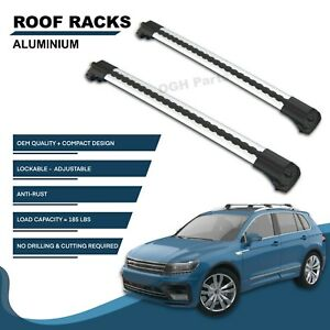 Lockable Aluminium Roof Rack Bar Cross Bar For Jeep Cherokee Kl 2014 2019 Models