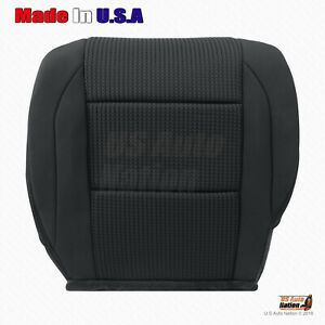For 2010 2011 Nissan Titan Driver Side Bottom Cloth Replacement Seat Cover Black