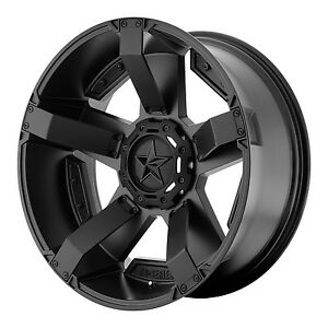 20x10 Black Wheels Xd811 Rockstar 2 1994 2018 Lifted Dodge Ram 1500 5x5 5 24mm