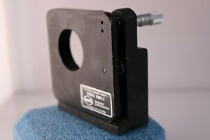 Optical Mount Assembly Newport Research 600a 2 With Starrett Micrometer Adjust