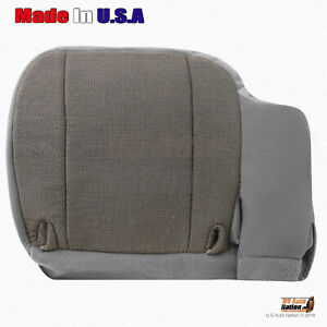 Front Driver Side Bottom Replacement Cloth Seat Cover Gray 2000 2001 Ford Ranger