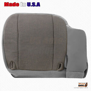 2000 2002 Ford Ranger Front Driver Bottom Gray Replacement Cloth Seat Cover