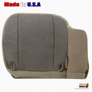 2000 2001 Ford Ranger Front Driver Bottom Cloth Replacement Seat Cover In tan