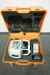 Trimble Gl722 Dual Slope Rotary Laser Set W Hr500 Receiver Rc703 Controller