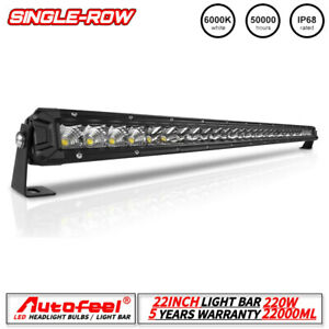 Autofeel 24 Inch 23 Curved Led Light Bar Combo Flood Spot 20 22 Offroad Truck