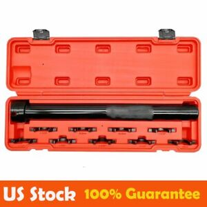9pcs Inner Tie Rod End Installer Remover Tool Set Adjuster Universal Garage Kit