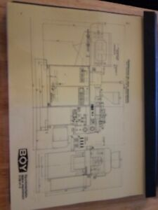 Boy 15 15s Injection Molding Machine Manual And Parts List 5138 01 0