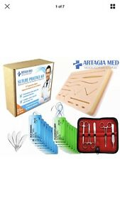Artagia Complete Suture Practice Kit For Suture Training Including Large Sil