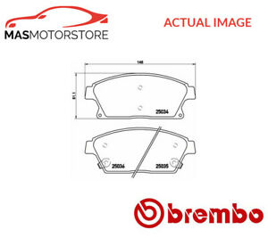 Brake Pads Set Braking Pad Front Brembo P 59 077 P New Oe Replacement